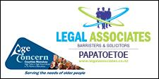 Legal Associates sposoring Age Concern
